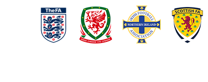 Football Association's Shields.