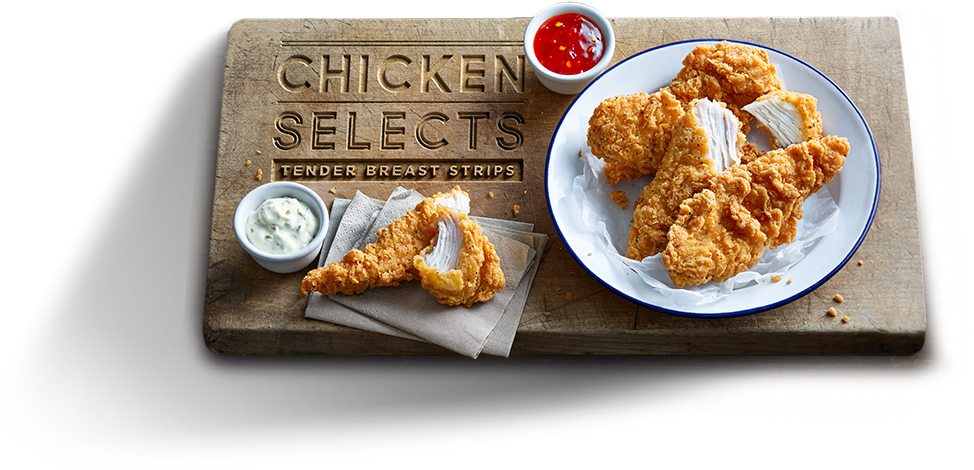 Chicken Selects - Tender Breast Strips