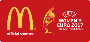 McDonald's Official Sponsor logo